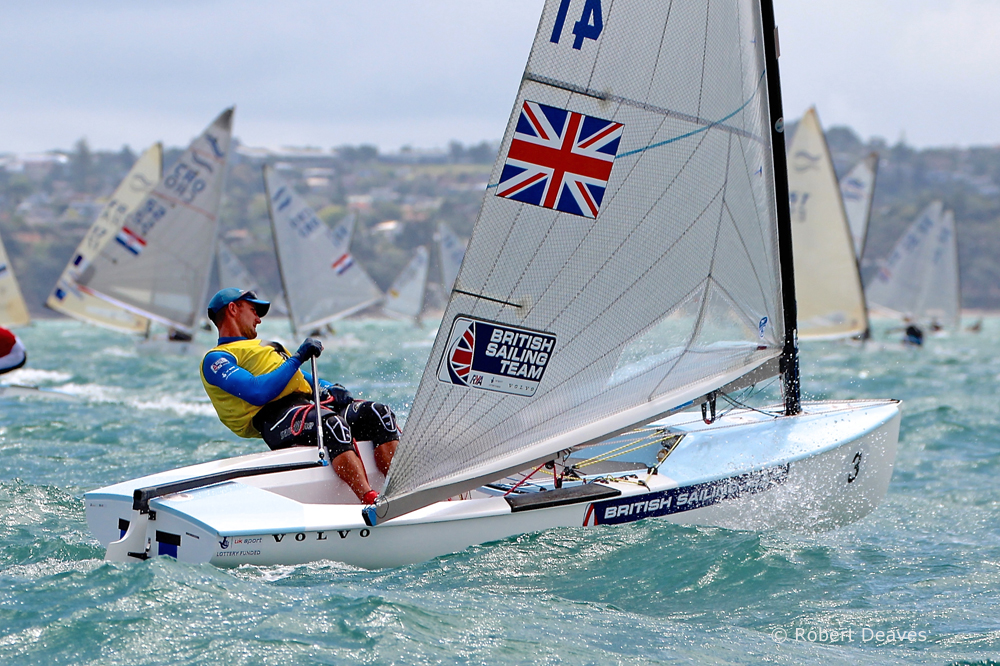 Giles Scott claims third Finn Gold Cup!