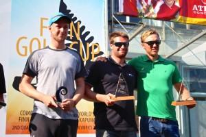 Junior winners, Ondra Teply, Fabian Pic, Jake Lilley.