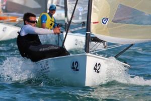 Fabian Pic leads Giles Scott