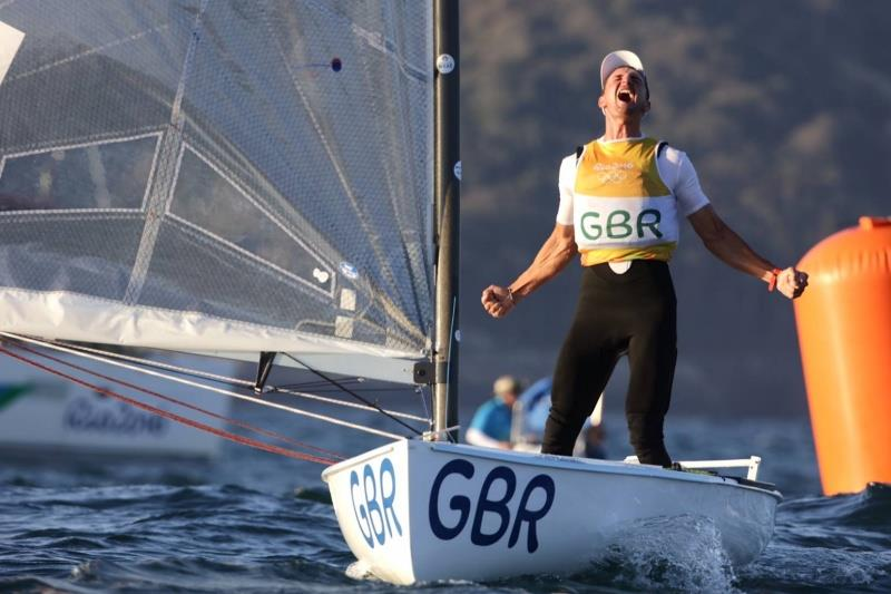 Giles Scott becomes a MBE