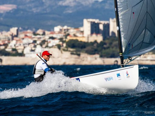 Ed Wright takes 2 bullets at the Europeans in Marseille