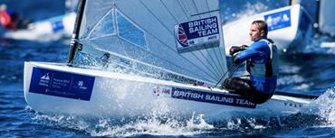 Cornish leads at Sailing World Cup, Santander