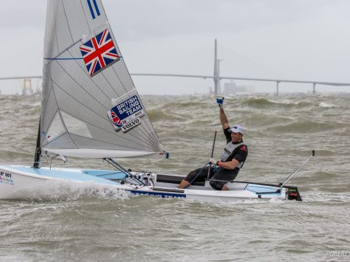 Ed Wright wins second Europeans in spectacular medal race