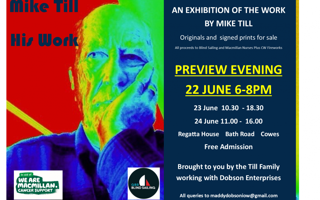 Exhibition of Mike Till's artwork