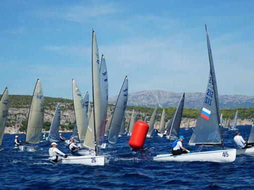 Finn European Masters 2018, Split,
